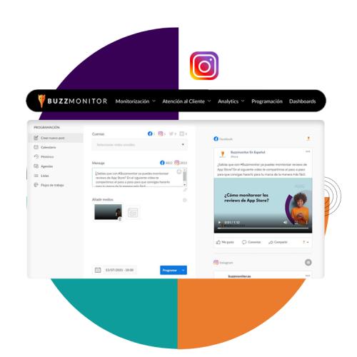 programa en instagram